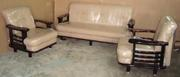 sofa set one plus two,  furniture