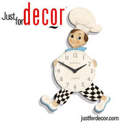Buy Chef's Kitchen Wall Clock I Justfordecor.com