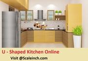 Buy U Shaped Modular Kitchen Bangalore Online From Scaleinch