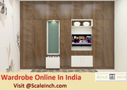 Buy Online Wardrobe In India - Scaleinch - Call 7676760027