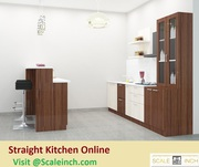 Buy Straight Modular Kitchen Designs Online - Starting From 50K