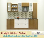 Buy Straight Kitchen Online In Bangalore - Call 7676760027