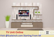 Buy Living Room TV Cabinet Designs In Bangalore