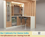 bar cabinets for home India - Starting From 8K