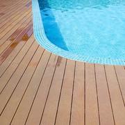 Custom Made Outdoor Wooden Flooring In India